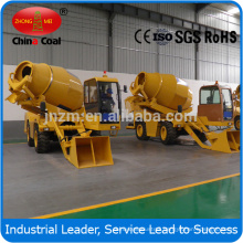 3.5m3 Mobile Concrete Mixing Station with Self-loading Weighing Mixing Discharging